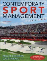 Contemporary Sport Management 6th Edition eBook With Web Study Guide