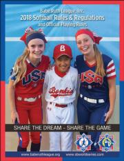 BRL 2018 Softball Rules and Regulations Ebook