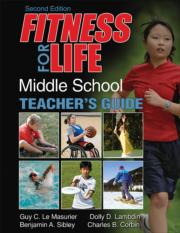Fitness for Life: Middle School Teacher's Guide 2nd Edition Print Pack With Online Bundle