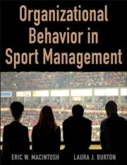 Organizational Behavior in Sport Management Ebook