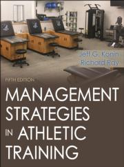 Management Strategies in Athletic Training Image Bank-5th Edition
