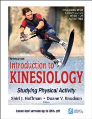 Introduction to Kinesiology 5th Edition With Web Study Guide-Loose-Leaf Edition