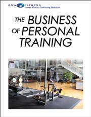 The Business of Personal Training Print CE Course