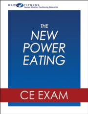 The New Power Eating Online CE Exam