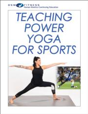 Teaching Power Yoga for Sports Ebook With CE Exam