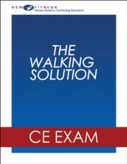 The Walking Solution Online CE Exam