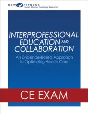 Interprofessional Education and Collaboration Online CE Exam