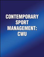 Contemporary Sport Management: CWU