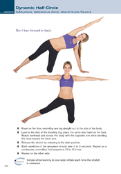 Dynamic half-circle stretch
