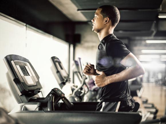 Aerobic exercise improves cardiorespiratory endurance.