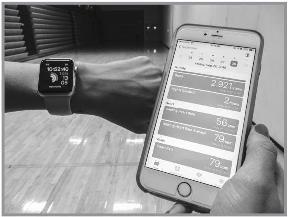 Mobile fitness tracker