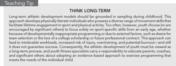 Teaching Tip: Think Long-term